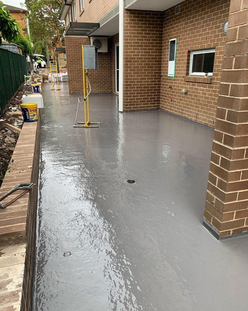 home side waterproofing